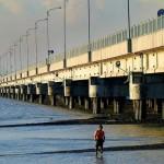 Suramadu (Surabaya - Madura) bridge.