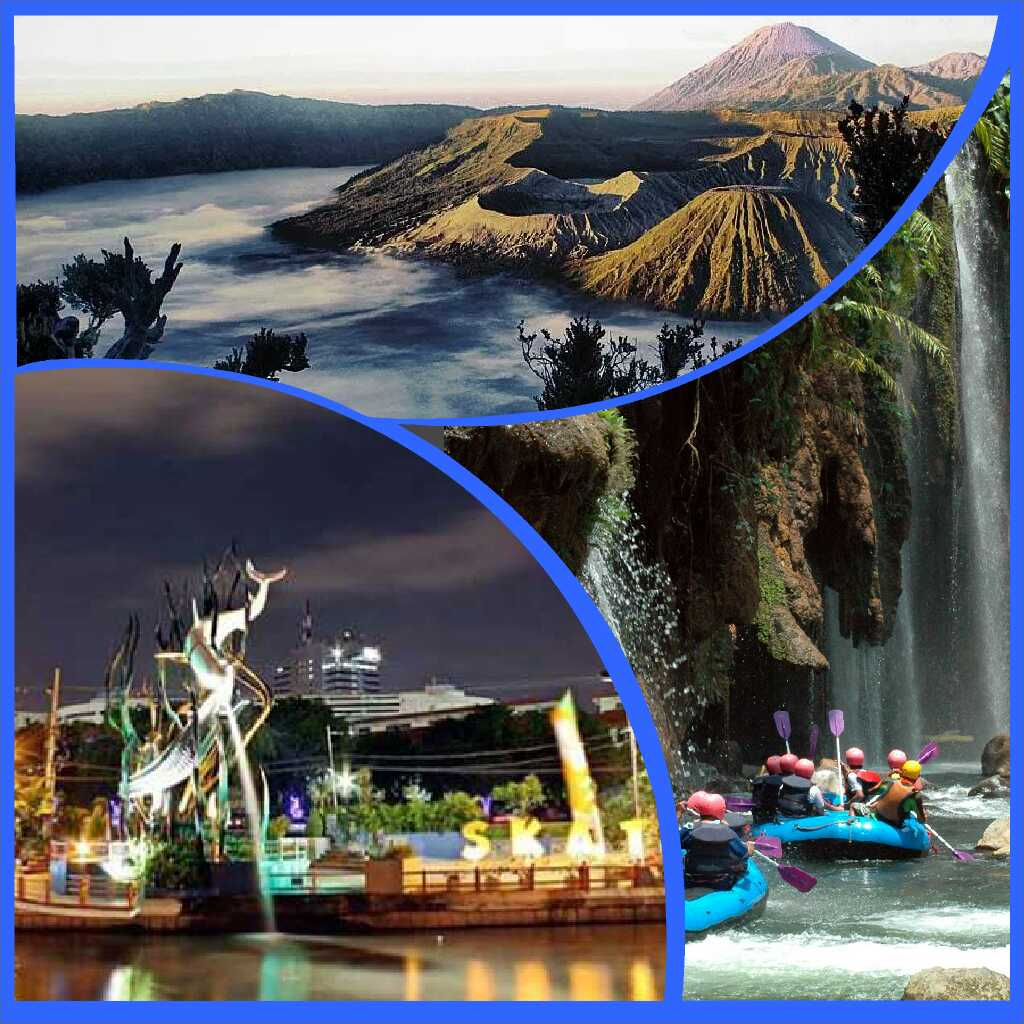 surabaya bromo rafting package
