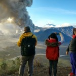 Bromo erruption